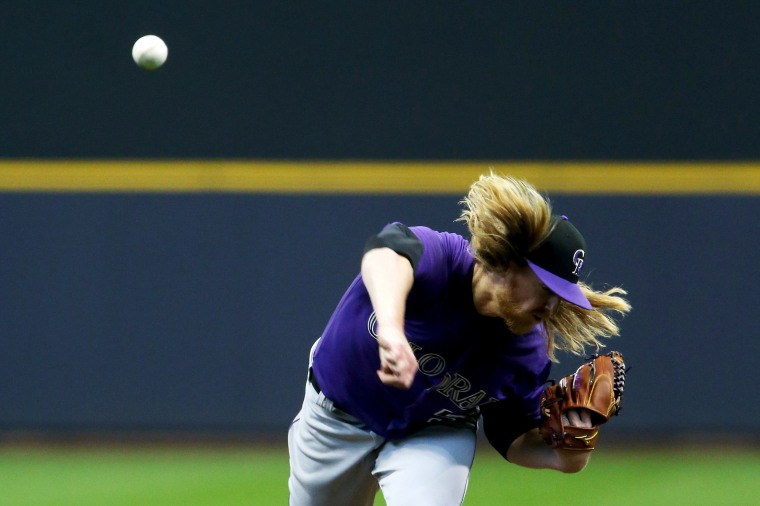 Image: Colorado Rockies v Milwaukee Brewers