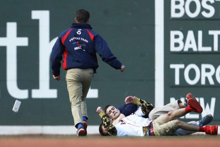 Image: Pittsburgh Pirates v Boston Red Sox
