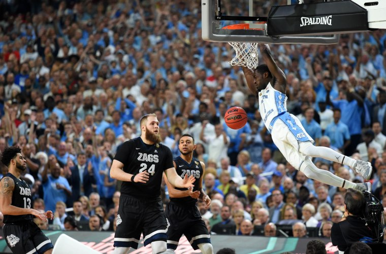 Image: Gonzaga v North Carolina