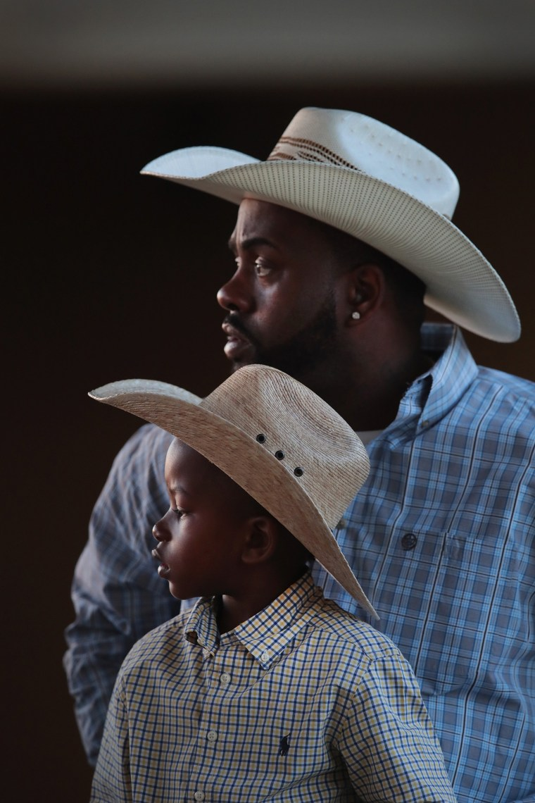 Image: Black Cowboys Compete At The Bill Pickett Invitational Rodeo In Memphis