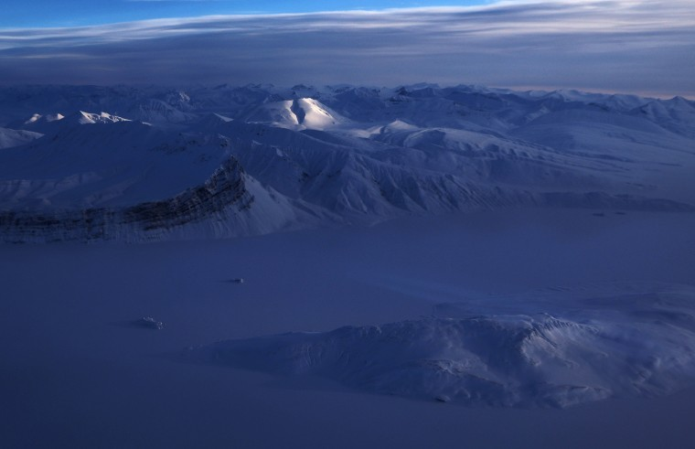 Image: NASA Continues Efforts To Monitor Arctic Ice Loss With Research Flights Over Greenland and Canada
