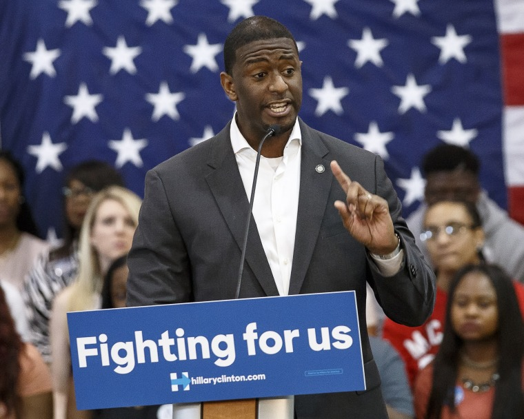 Image: Andrew Gillum, mayor of Tallahassee
