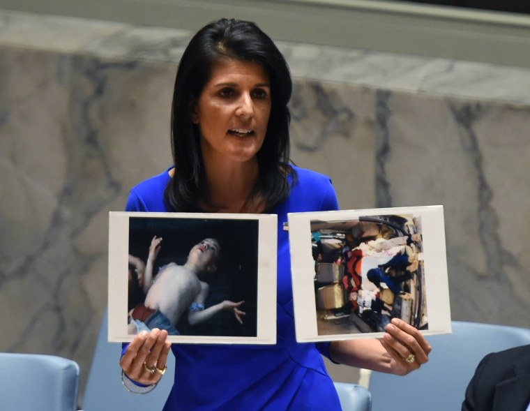 Image: UN-SYRIA-CONFLICT-CHEMICAL-MEETING