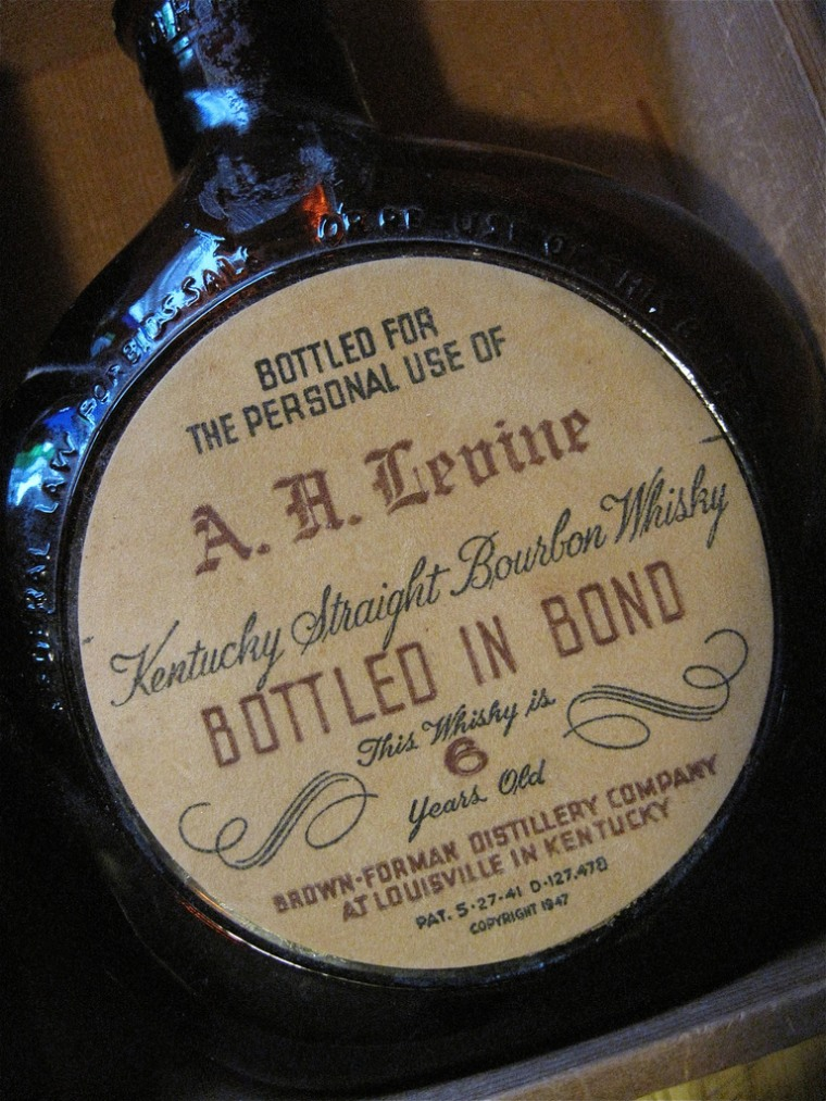 A new law allows individuals to sell vintage bottles of bourbon to licensed retailers. Now, generations of booze stashed away in attics or cellars can be sold legally.