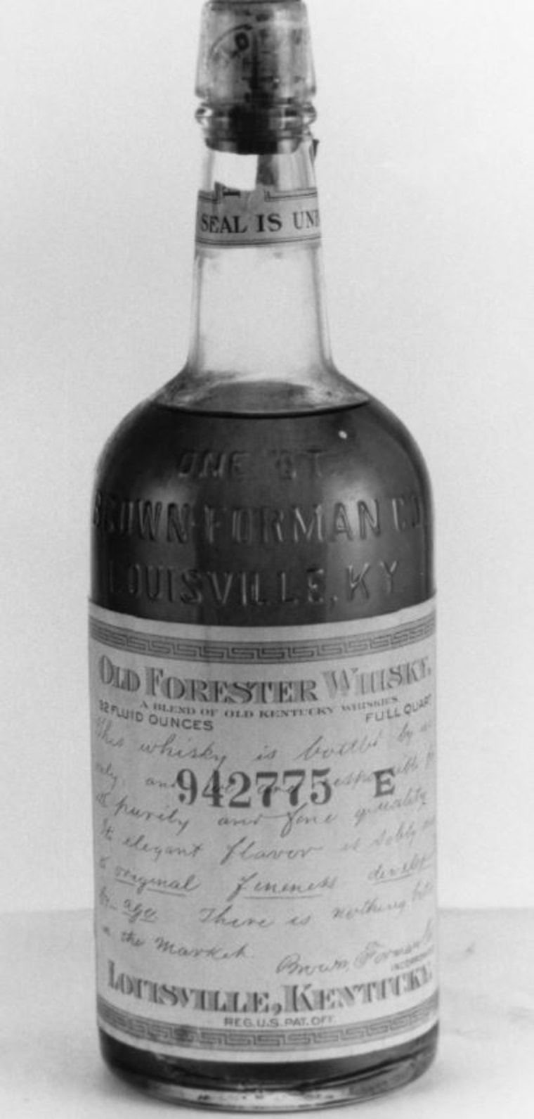 Antique bottles of whiskey used to be relegated to museum displays or private collections.