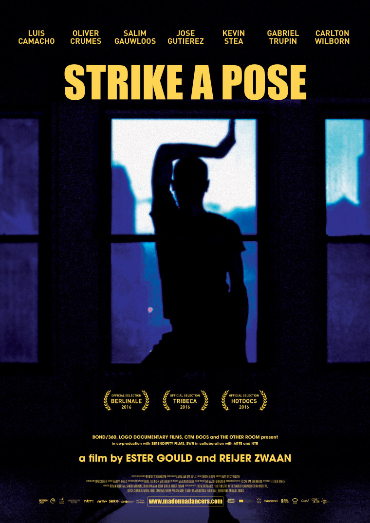 """Poster for film """"Strike a Pose."""""""
