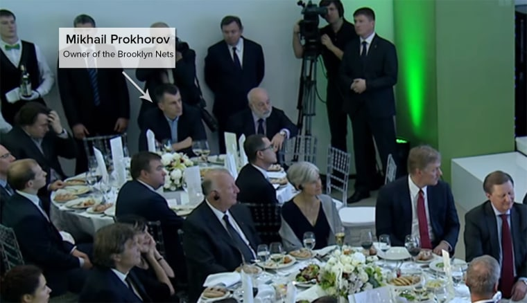 Guess Who Came to Dinner With Flynn and Putin