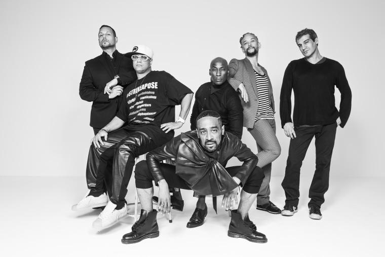 (L to R) Luis, Oliver, Carlton, Jose (in front), Kevin, Salim