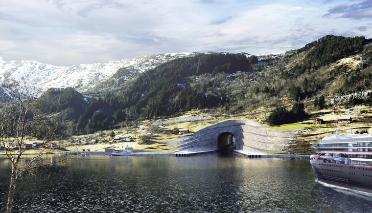 Image: Computer rendered image provided by the Norwegian Coastal Administration.