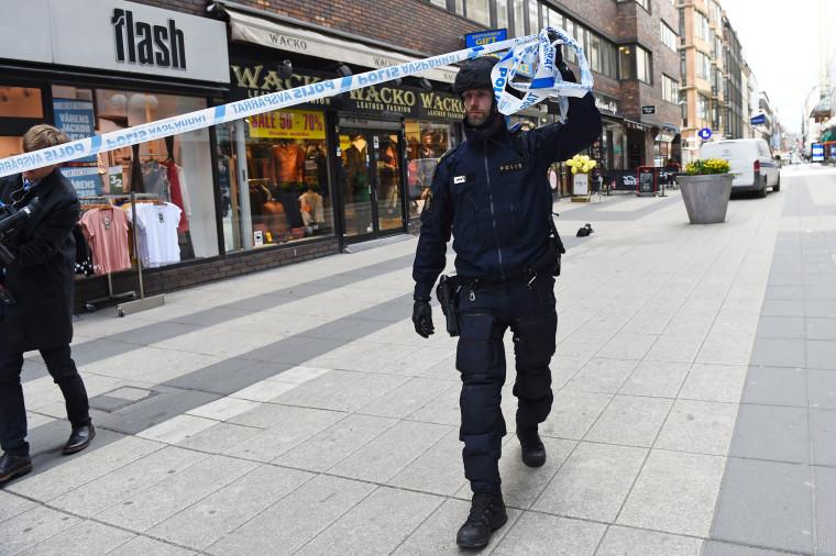 Image: SWEDEN-TRUCK