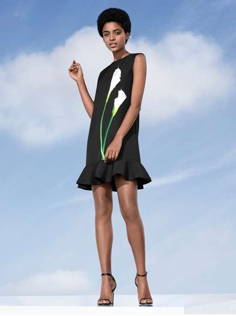 Image: An image from the look book of Victoria Beckham's 2017  line for Target.