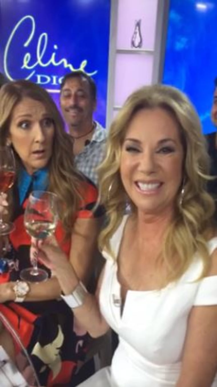 Kathie Lee and Celine Dion co-hosting together!