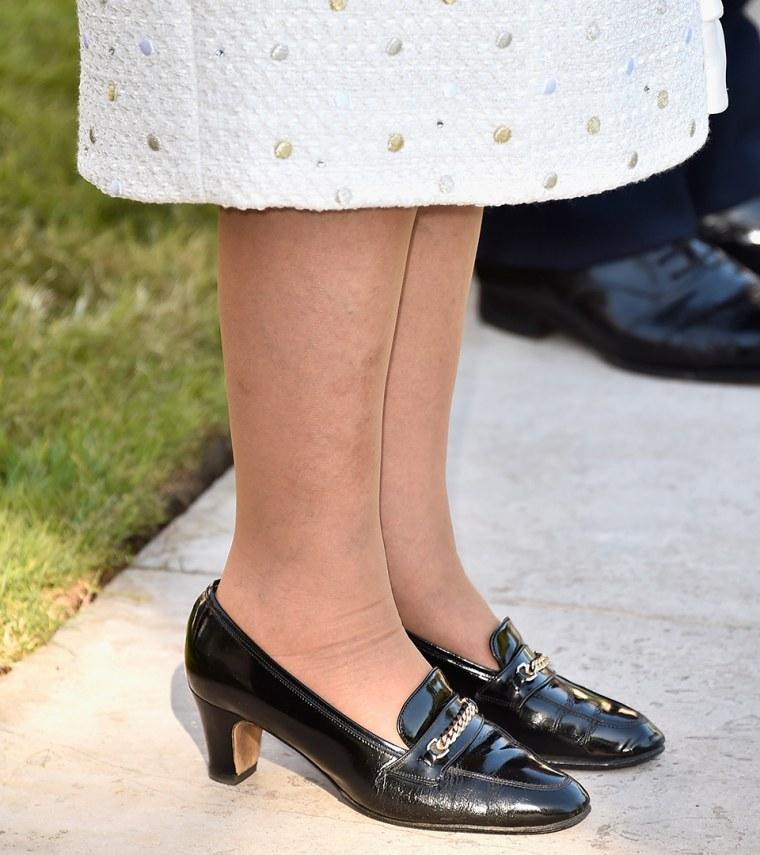 Queen Elizabeth's DIY hack for breaking in shoes: Hire