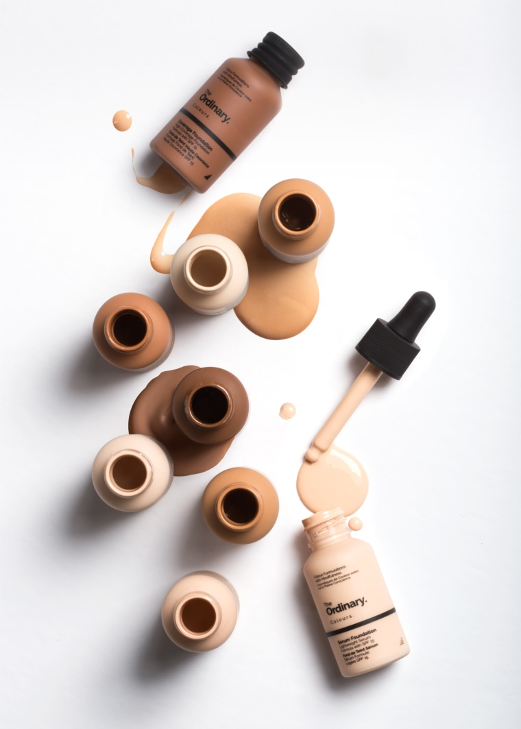The foundations come in 21 shades, so you can find the perfect match.