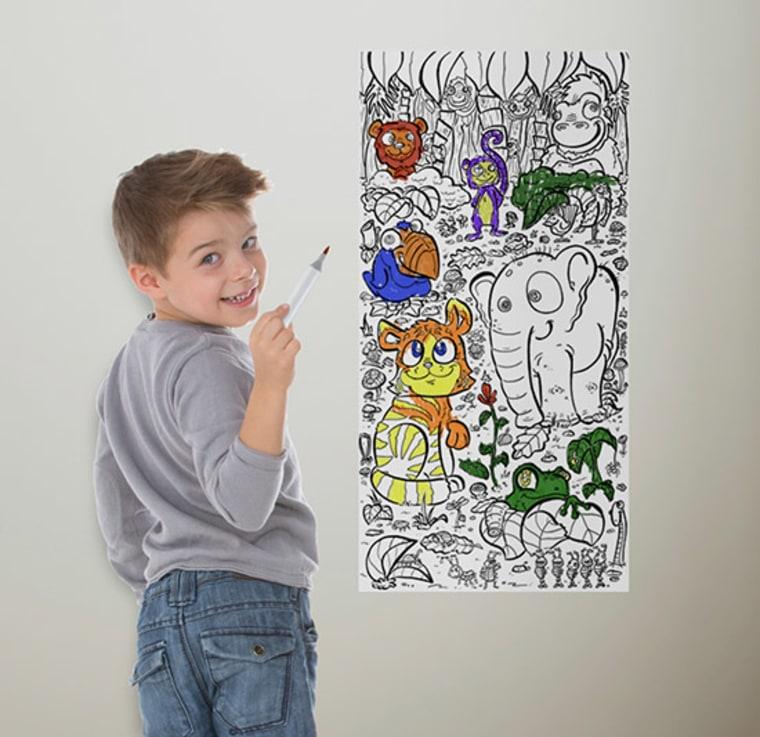 Coloring wallpaper