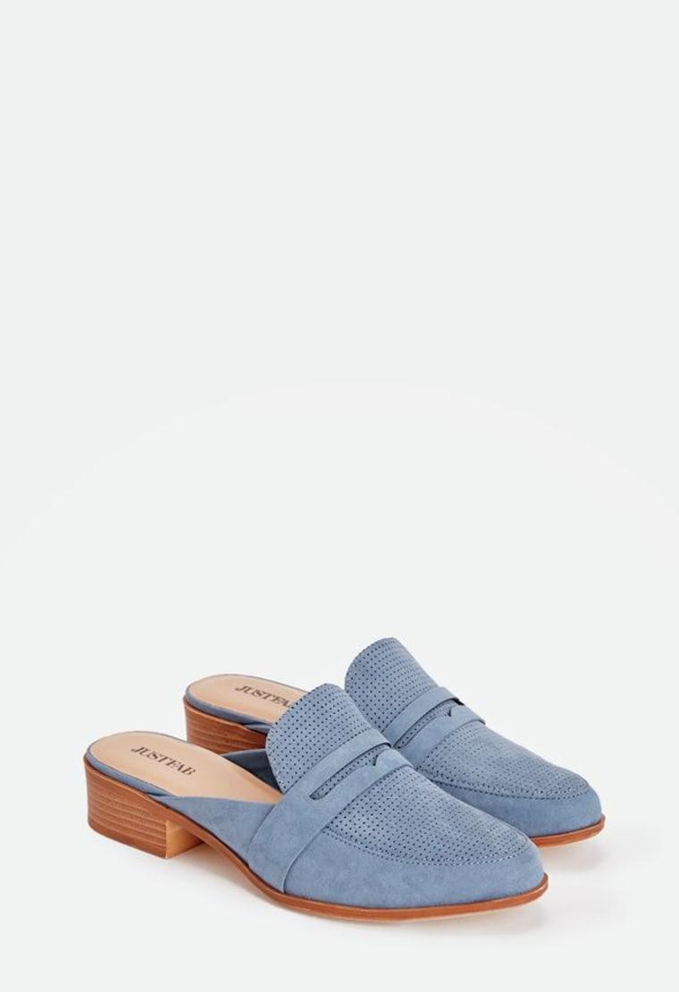 Mules Shoes For Spring Slip Ons Slides Block Heels