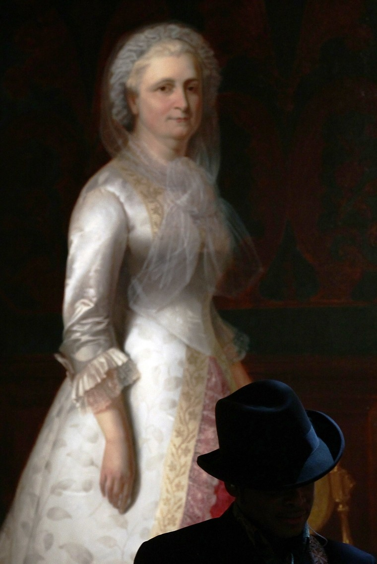 Martha Washington Official Portrait