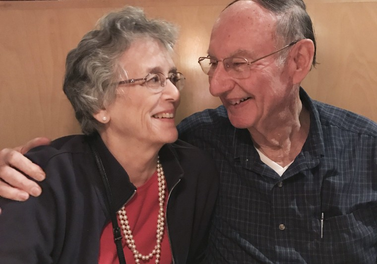 A pair of high school sweethearts who found each other after 64 years and decided to tie the knot.