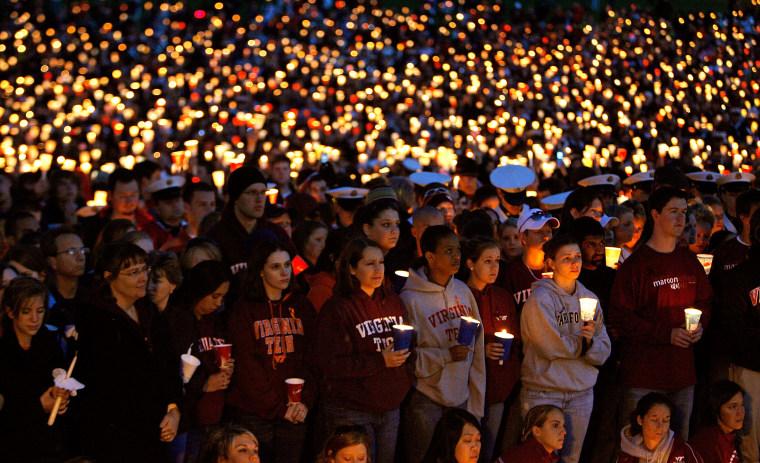 Virginia Tech Community Mourns Day After Deadliest U.S. Shooting