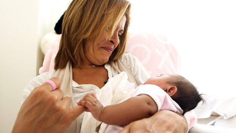 Hoda Kotb and her daughter Haley Joy