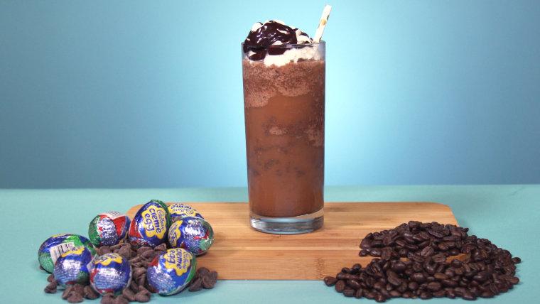Cadbury Creme Egg Frappuccino from Starbucks Secret Menu