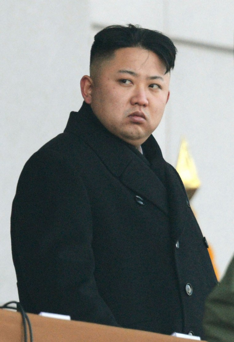 Image: North Korean leader Kim Jong-un attends the inaugural ceremony of the Kumsusan Palace of the Sun in Pyongyang