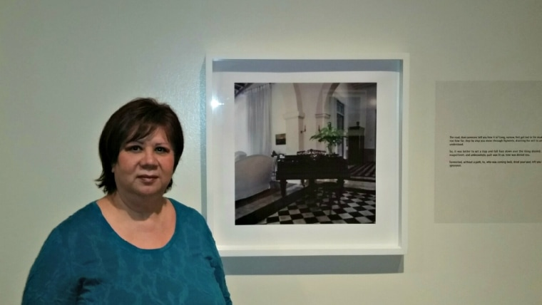 """Magdalena Garcia is the founder and executive director of """"El Museo Latino"""" in Nebraska."""