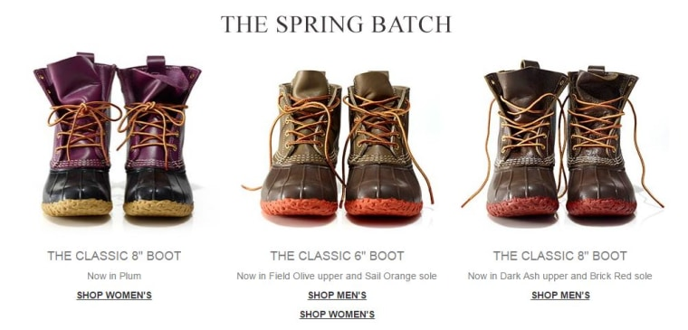 L.L. Bean new duckboots
