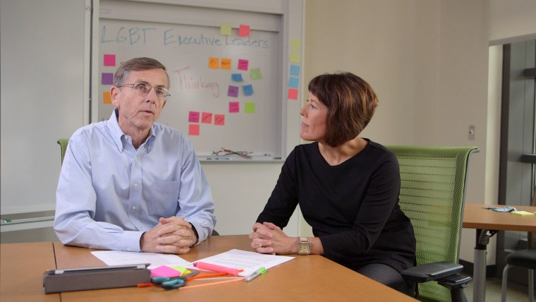 Drs. Tom Wurster and Sarah Soule, co-directors of the Stanford LGBTQ Executive Leadership Program