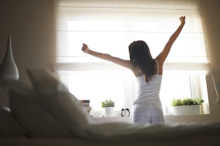 Image: Waking up