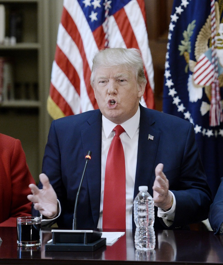Image: President Donald Trump Leads A Strategic And Policy CEO Discussion