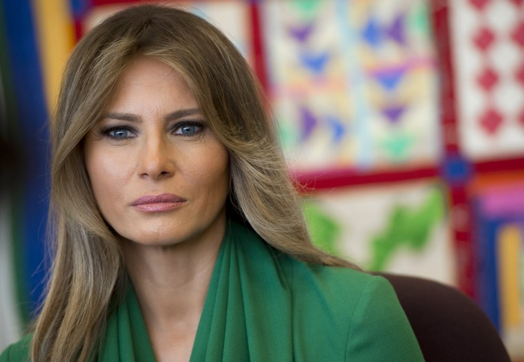 First Lady Melania Trump Could Be Moving To White House This Summer