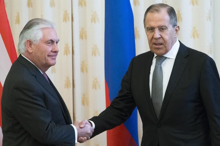 Image: Sergey Lavrov, Rex Tillerson
