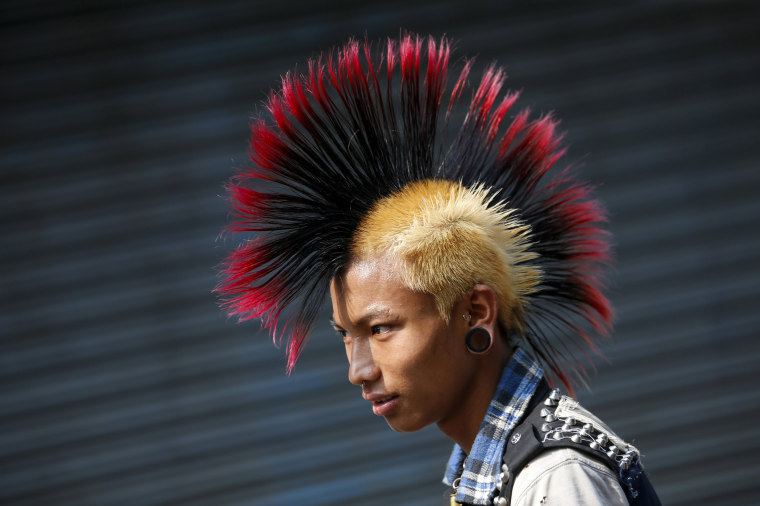 Image: Myanmar punks celebration ahead of Thingyan water festival