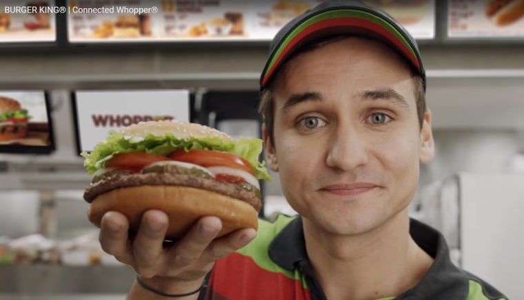 Image: New Burger King Whopper Ad
