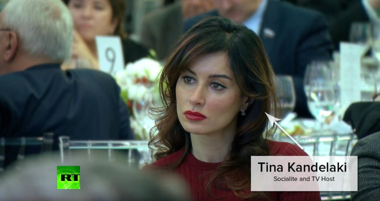 Tina Kandelaki has appeared on the covers of the Russian versions of Playboy, InStyle, and Maxim and ran an international marketing operation for the AK-47, calling the gun an instrument of peace.
