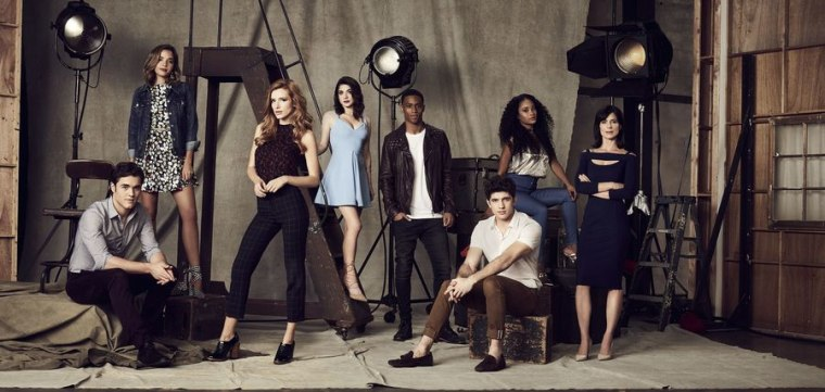 """The cast of """"Famous in Love"""""""