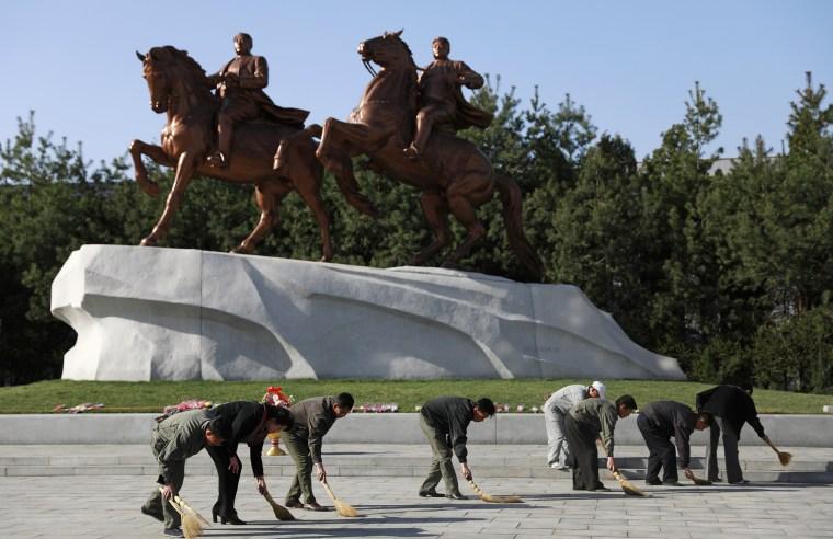 Image: North Korea daily life