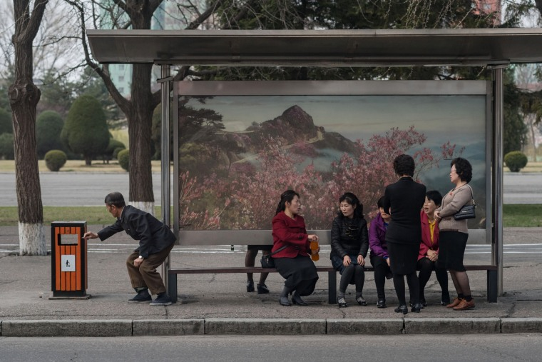 Image: NKOREA-PEOPLE-TRANSPORT