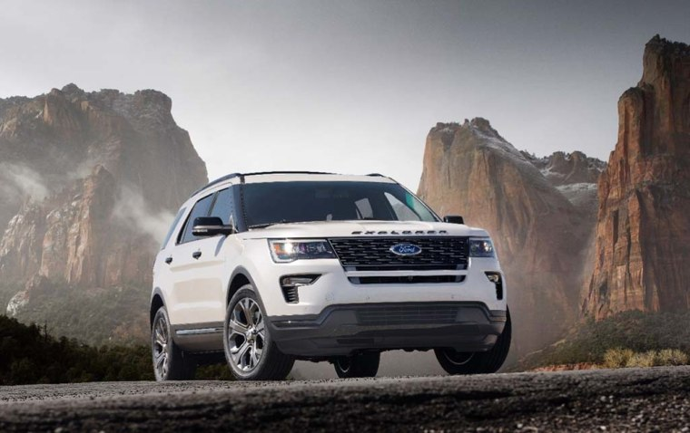 The 2018 Ford Explorer Platinum