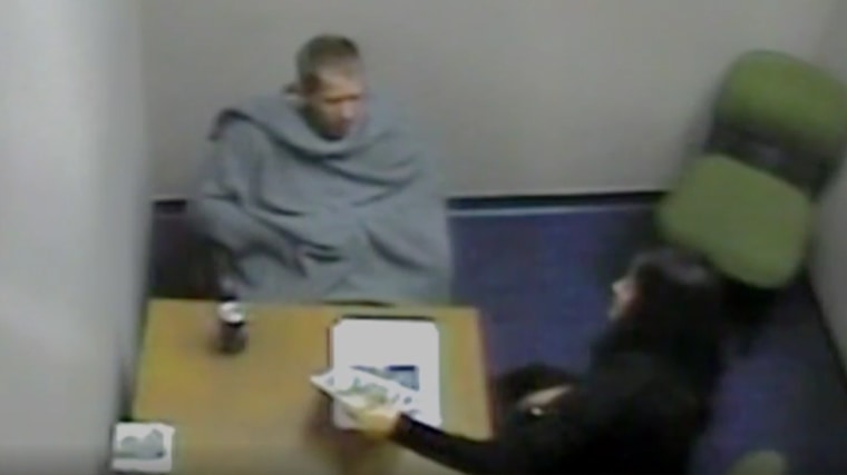 Detective Julissa Trapp of the Anaheim Police Department interviews now convicted murderer Steven Gordon in March 2014.