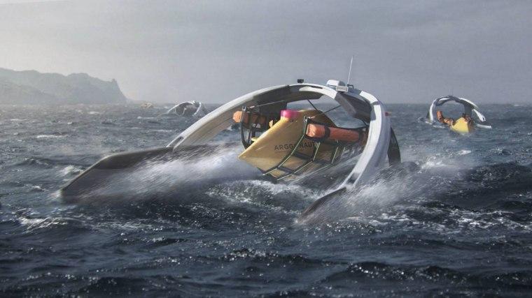 Project ARGGO, from a German team, consists of a swarm of 12 intelligent deep-sea robotic drones.