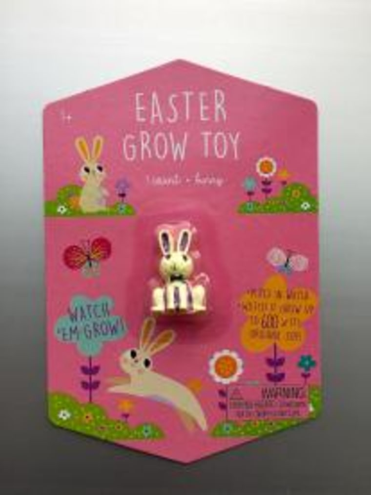 Target has recalled its line of Hatch & Grow Easter toys, including dino eggs, bunnies, chicks, and butterflies.