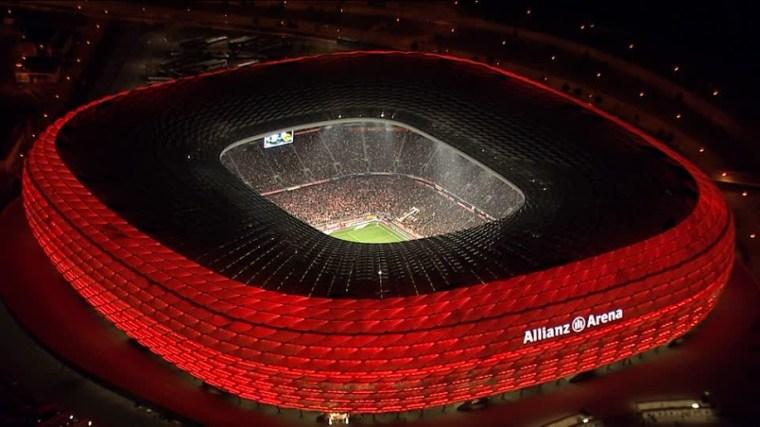 Allianz Arena, FC Bayern's stadium in Munich