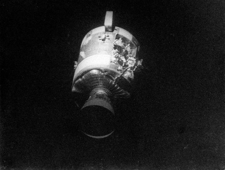 Apollo 13 Service Module