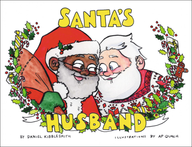 "Cover of ""Santa's Husband,"" written by Daniel Kibblesmith with illustrations by A.P. Quach"