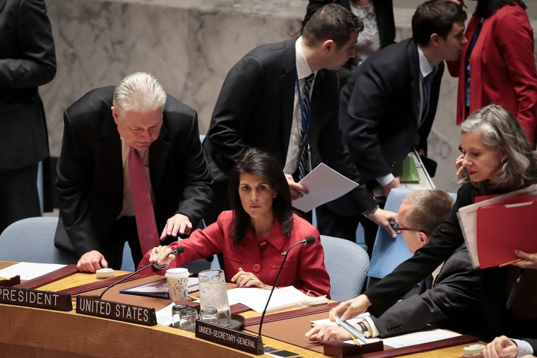 Image: United Nations Security Council meets about the situation in Syria