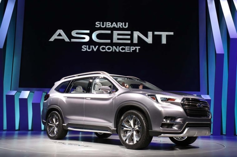 The Subaru Ascent is lavishly equipped.