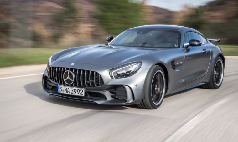 The Mercedes-AMG GT R can handily top 200 mph.