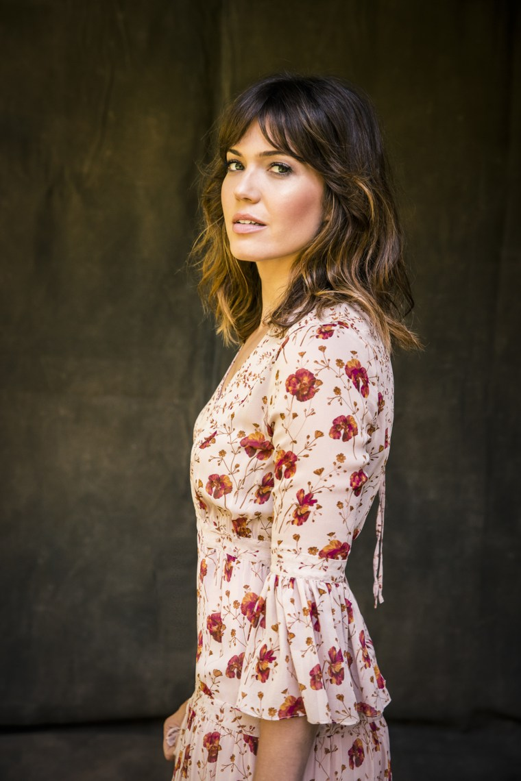 Mandy Moore was named Sexiest Actress on the Victoria's Secret's 2017 'What Is Sexy?' list.